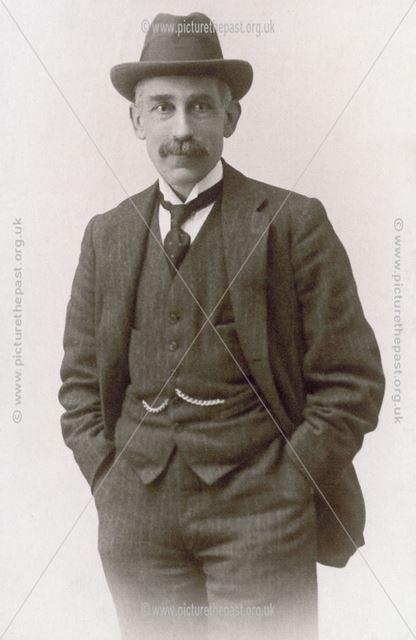 Dr Josiah Court of Staveley, c 1900?
