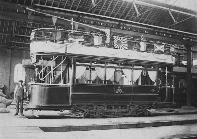 Burton and Ashby Light Railway Wedding Car