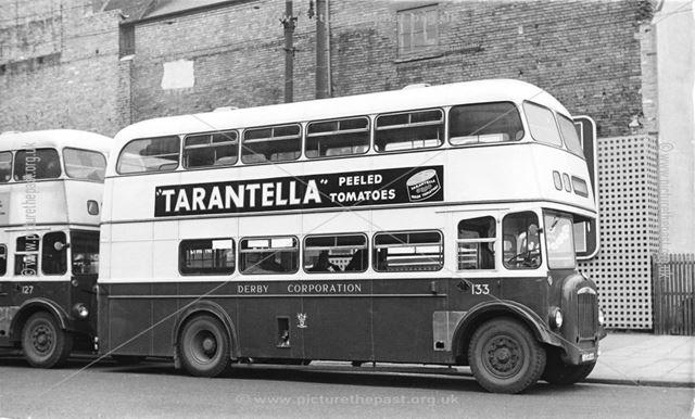 Derby Corporation motor bus No.133