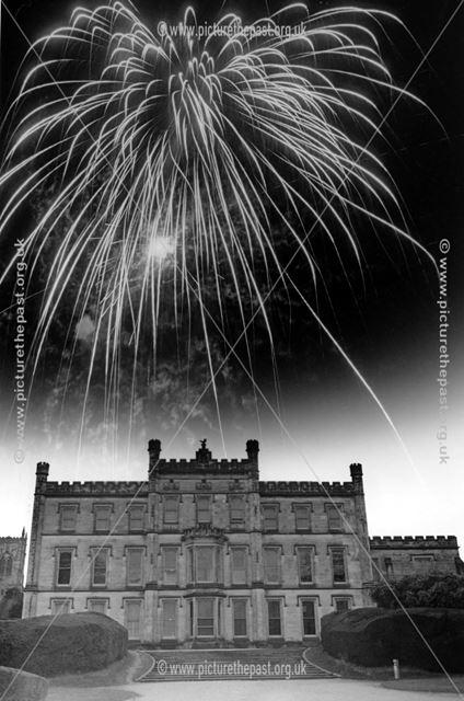 Fireworks at Elvaston Castle