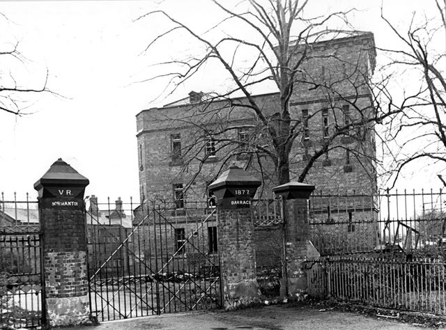 Entrance - Gateway and Barracks