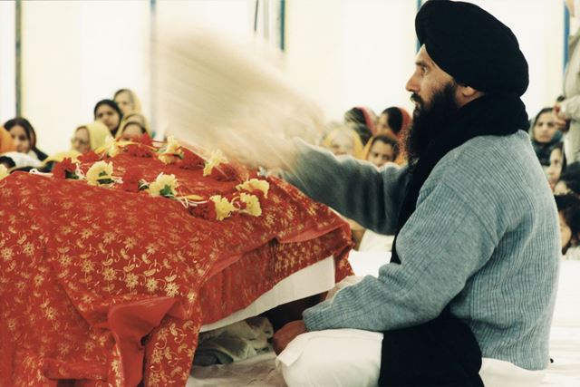 300th Anniversary of Sikh Nation Celebrations, Stanhope Street, Normanton by Derby, 1999