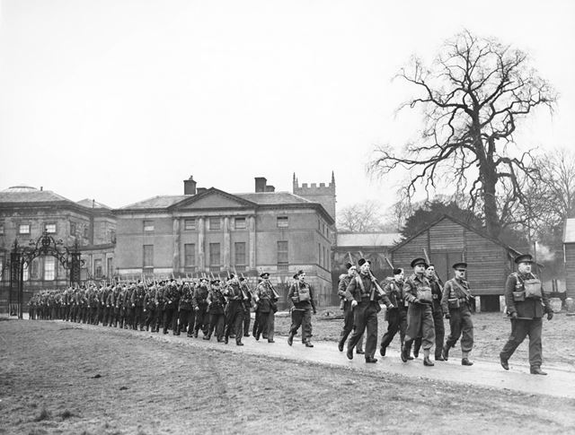 Infantry Regiment at Kedleston Hall