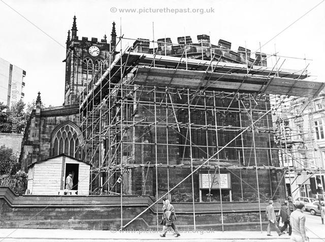Repairing St Peter's Church, Derby