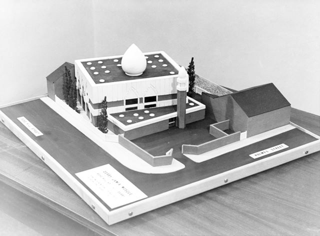 Architects Model of the Jamia Mosque