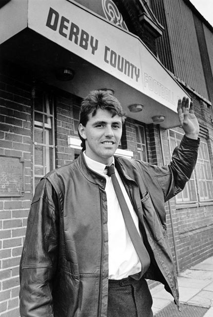 Nick Pickering, Derby County FC Midfielder (1988-1991), Derby, 1988
