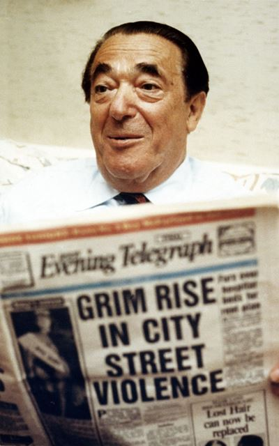 Robert Maxwell, Chairman of Derby County FC 1987-1991, c 1980s