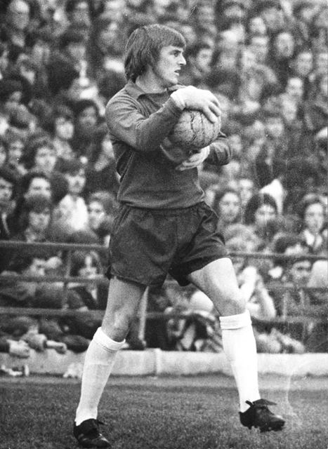 Colin Boulton, Derby County Football Club Goalkeeper, at Unknown Match, c 1973 ?