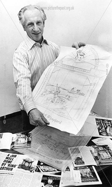 Arthur Bowyer, well dressing designer