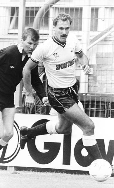 Richard Pratley - Derby County Football Club defender (1983-86)