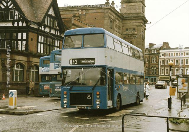 Derby City Transport Ailsa 122 Bus on the Market Place