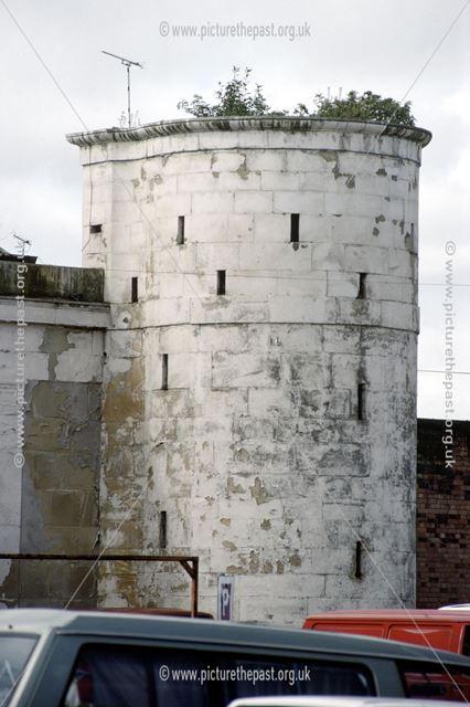 County Gaol, Corner Bastion or 'Martello Tower'