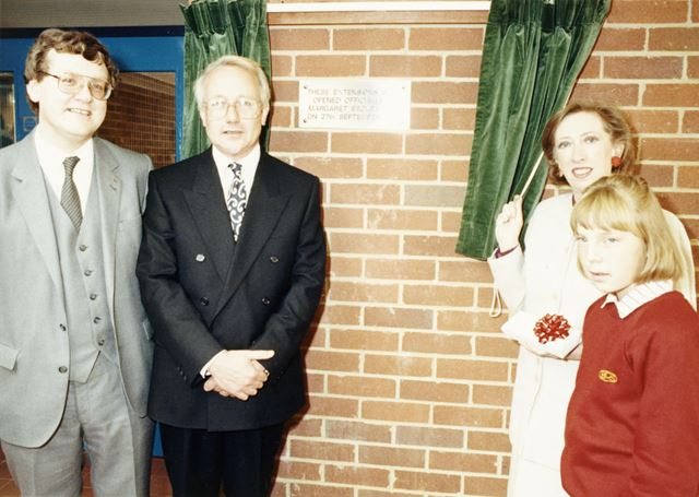 Bemrose Community School - official opening of the extension