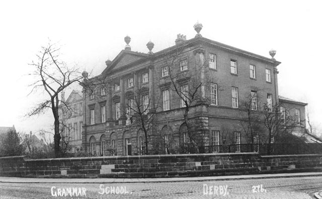 Derby Grammar School, St Helen's House