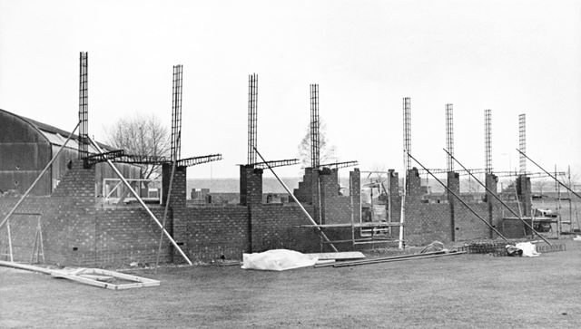 Construction of the new Pavilion at Derbyshire's County Cricket Ground