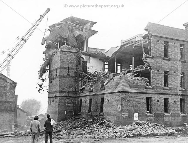 Normanton Barracks -demolition