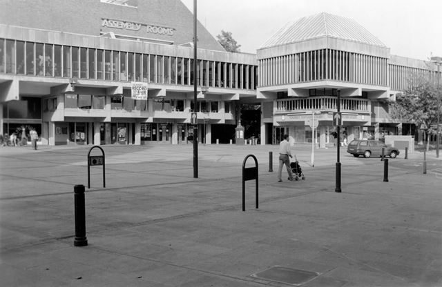 Market Place and (new) Assembly Rooms, Derby