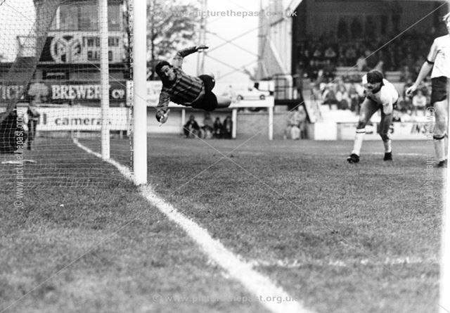 Derby County's Bobby Davison Scores Against Cambridge, 1983