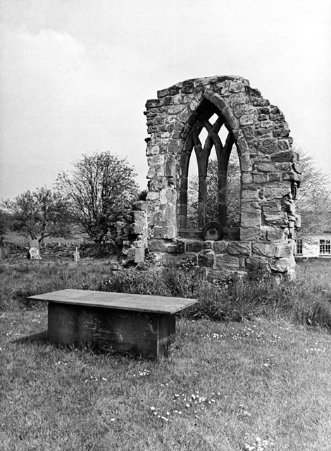 Remains of a Church in the grounds of St George's Church