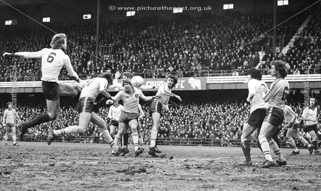 Derby County defender Steve Wicks shoots at goal