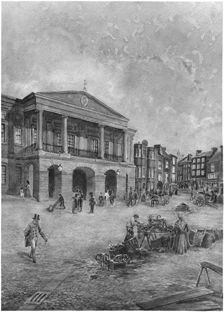 Derby Town Hall - Guildhall (Supposedly seen c 1839)