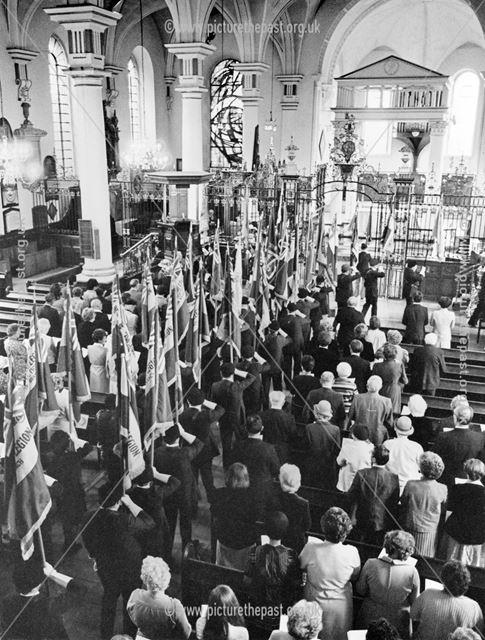 Korean Veterans Association Service at Derby Cathedral