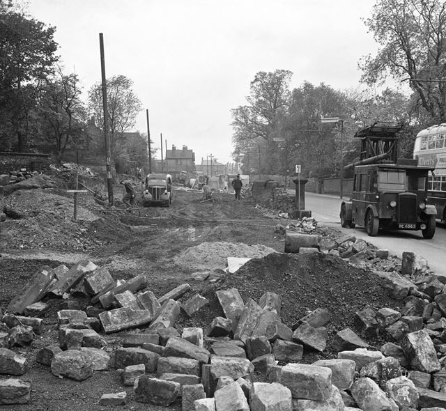 Osmaston Road widening