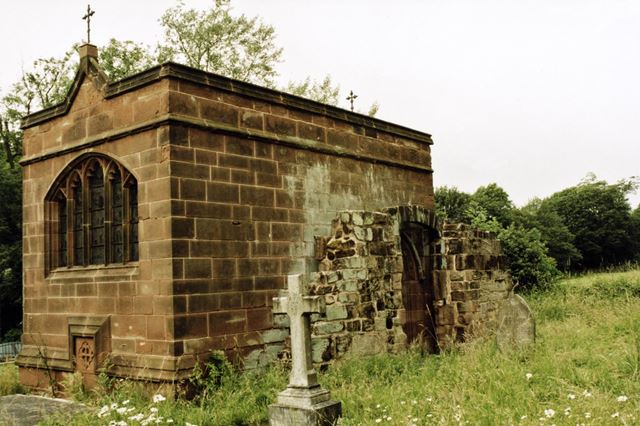 Mausoleum, Morley Churchyard