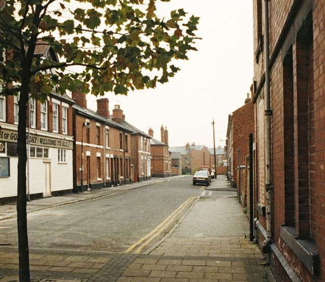 Whiston Street, Normanton by Derby
