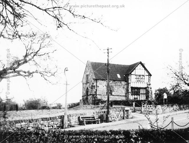 Old Hall, Moor Road, Breadsall, c 1965