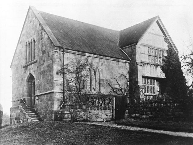 Old Hall, Moor Road, Breadsall, pre 1904