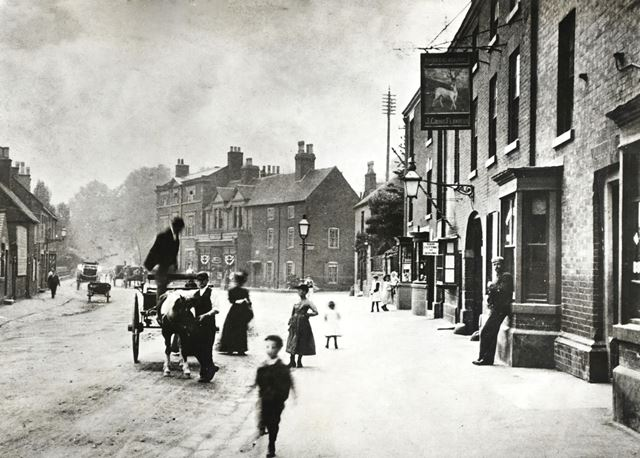 The White Hart, Town Street, Duffield, c 1900