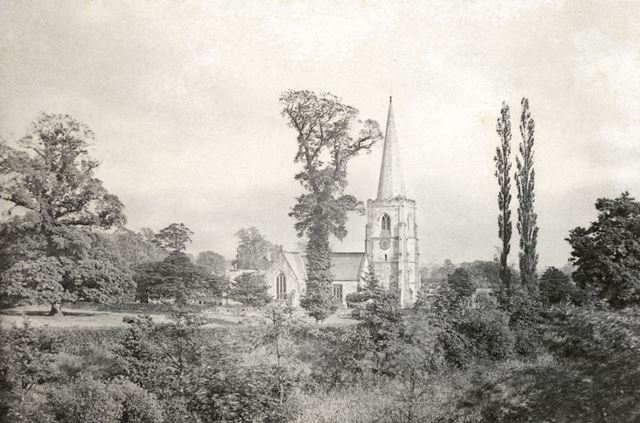 St. Alkmund's Church, Church Drive, Duffield, c 1900s