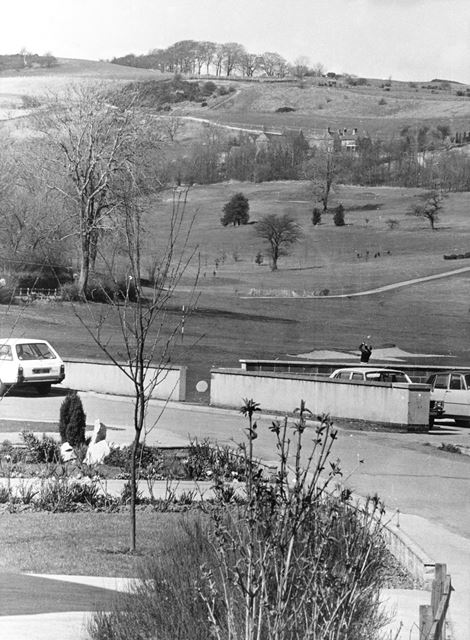 Golf Club course, Duffield, 1978