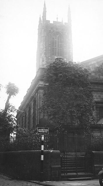 All Saints' Church, Derby Cathedral, Iron Gate, Derby, c 1930s