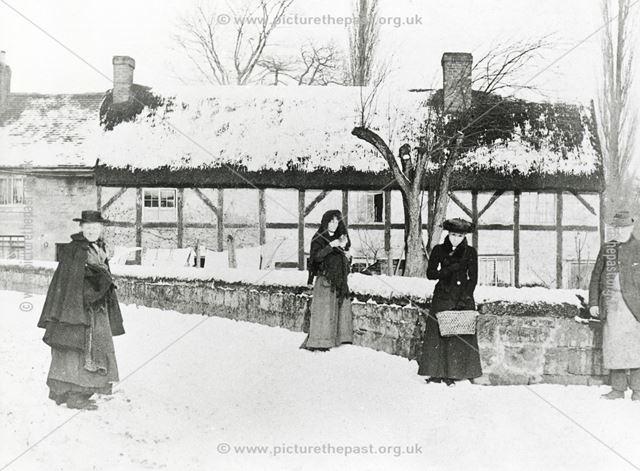 The Old Farm, Poplar Row, Duffield Road, Little Eaton, c 1910?