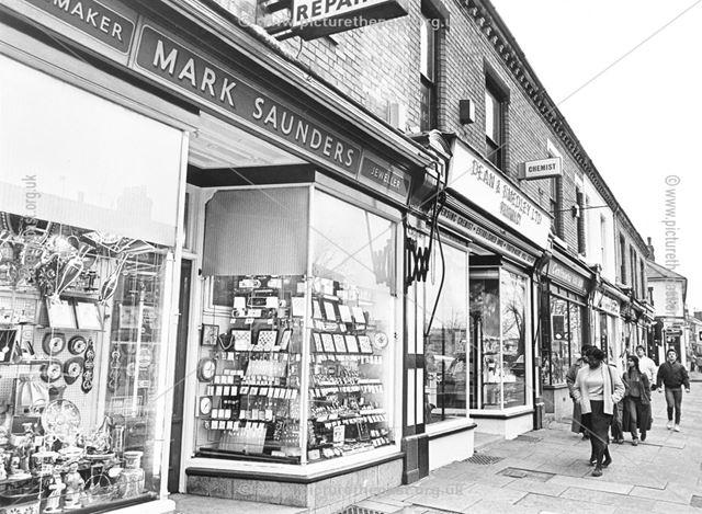 Normanton Road, Derby, 1981