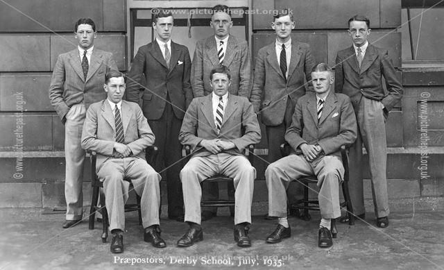 Derby School Praeposters