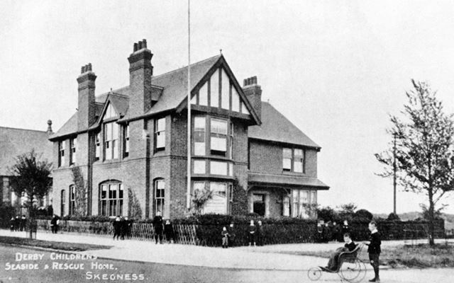 Exterior view of the Derbyshire Children's Seaside Home