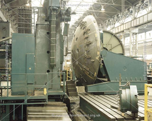 International Combustion Limited - Dunlop Vacuum Furnace - Bottom D/End on ram borer