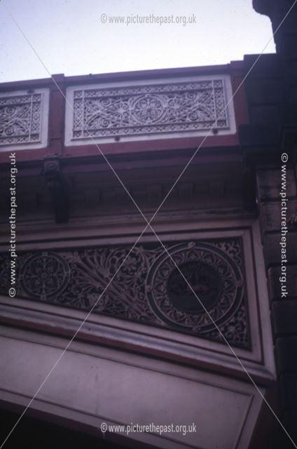 Detail of Friar Gate Bridge